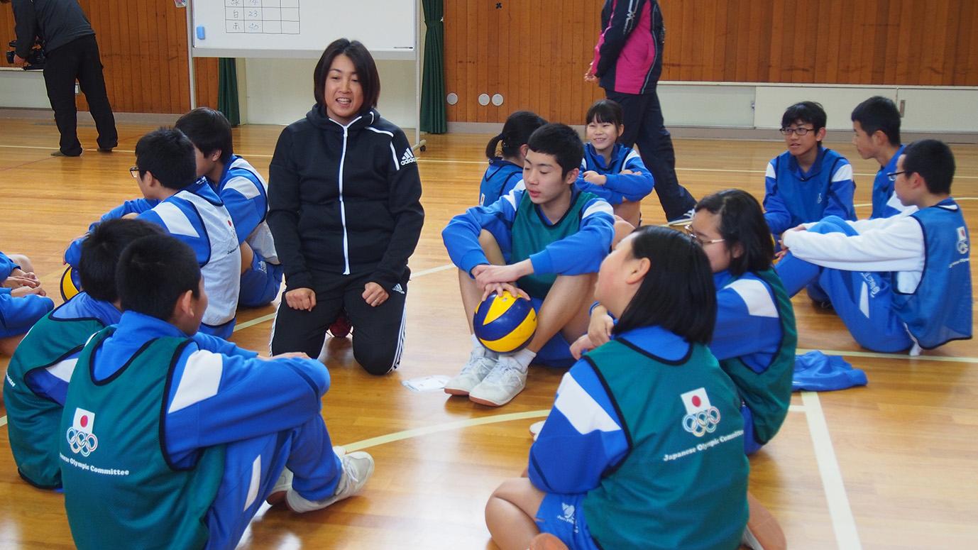 記事 JOCオリンピック教室のアイキャッチ画像
