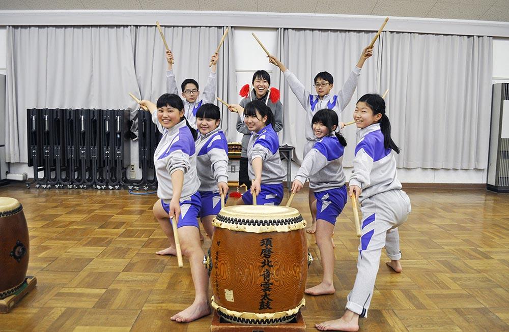 記事 こんな部です「神戸市立須磨北中学校 太鼓部」のアイキャッチ画像