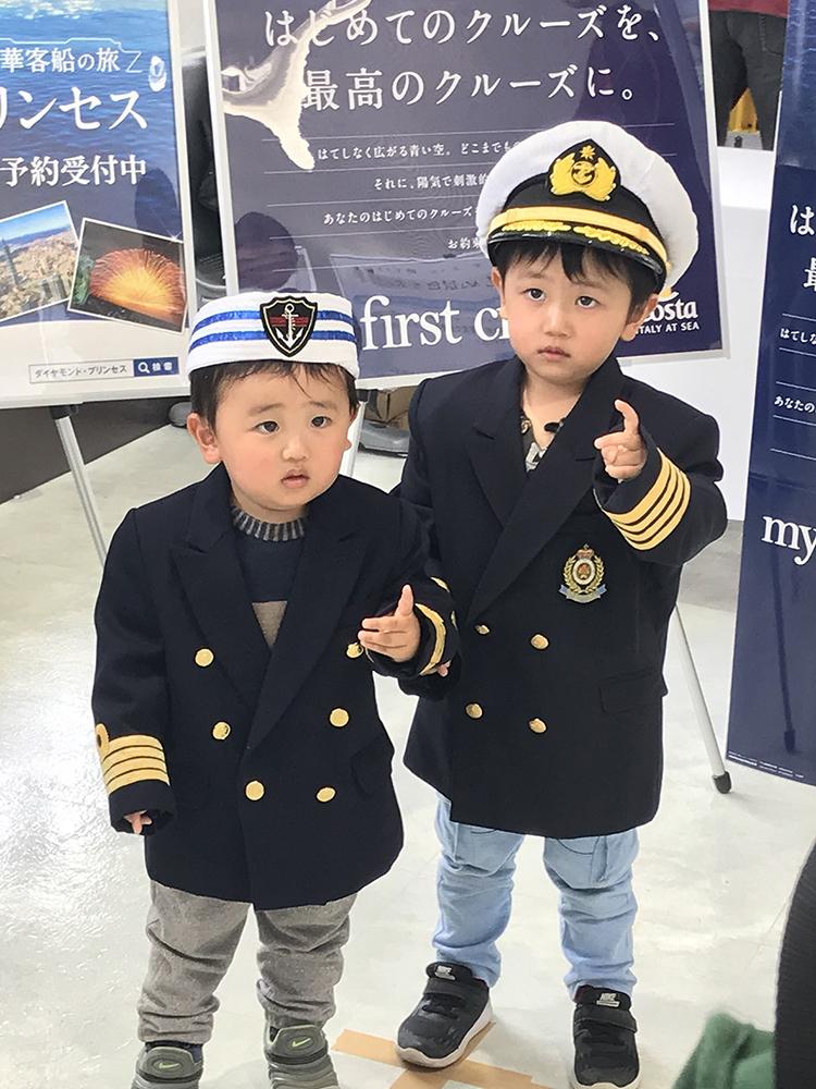 若原蒼麿ちゃん(右)、優麿ちゃん(左)