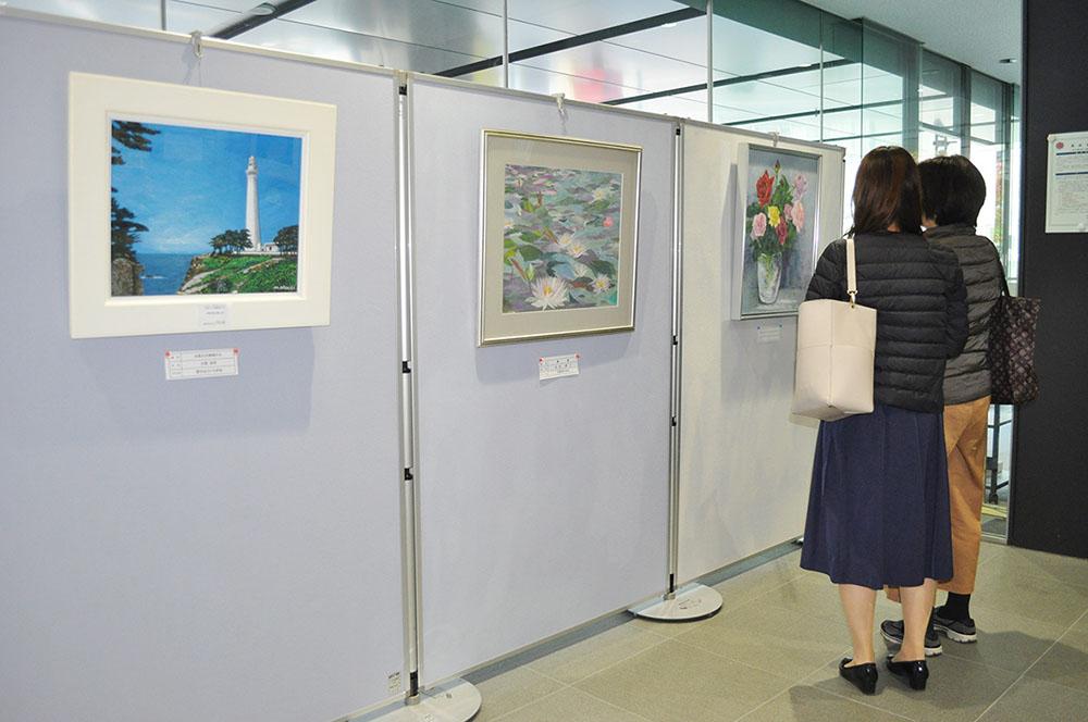 記事 須磨区老人クラブ絵画展のアイキャッチ画像