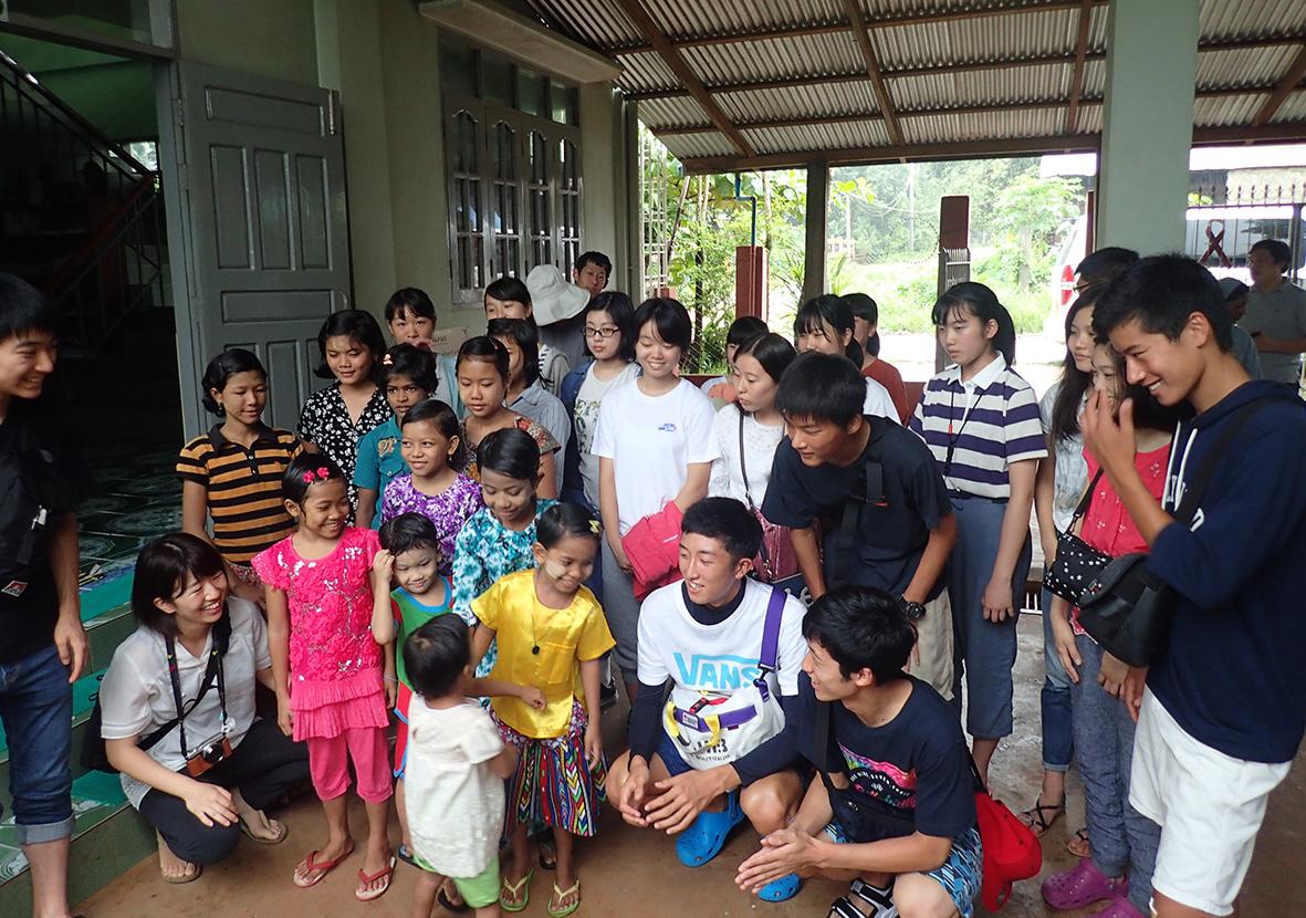 記事 啓明学院高等学校 ミャンマー八角平和計画のアイキャッチ画像