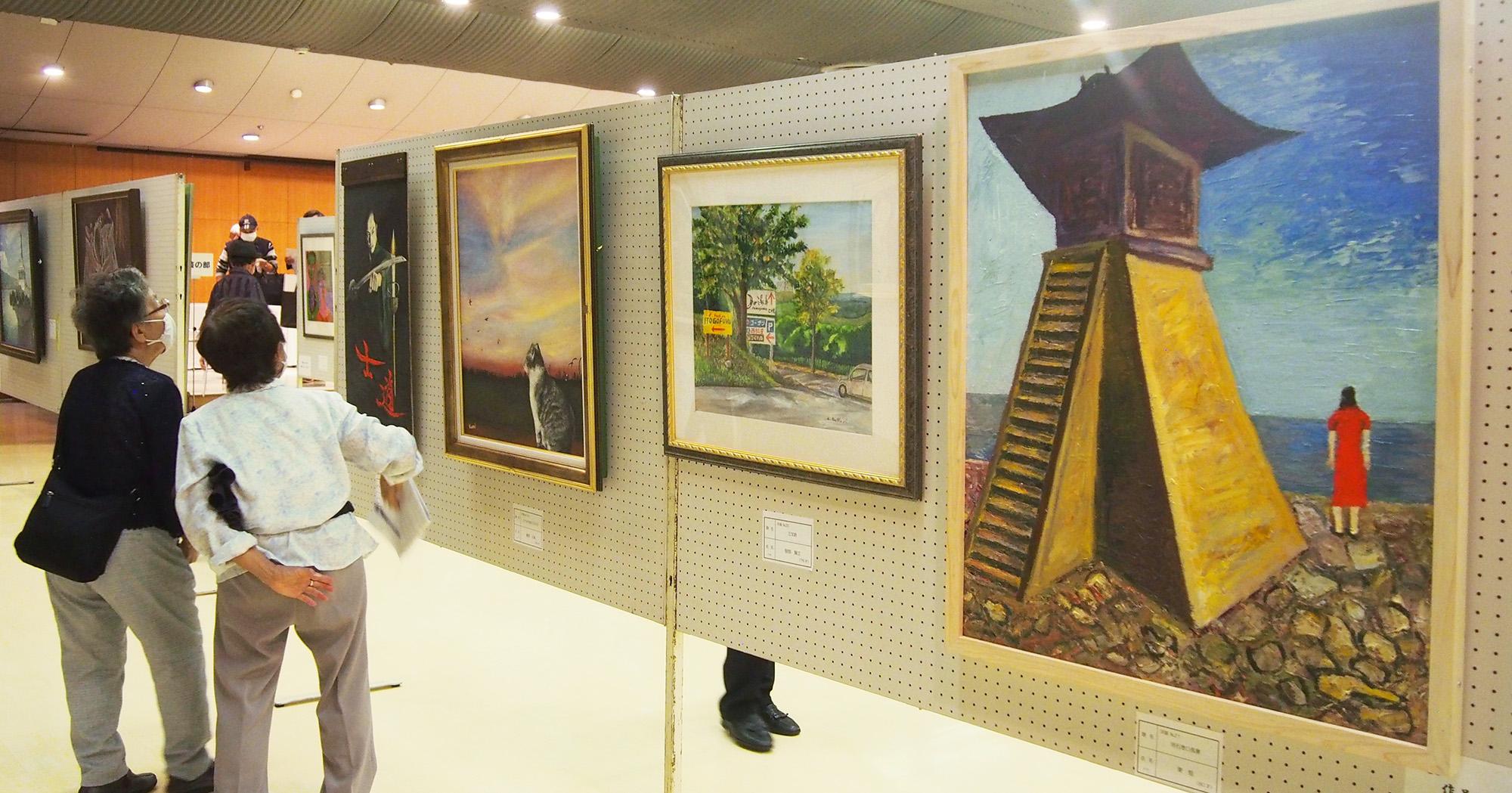 記事 神戸市高齢者美術作品展のアイキャッチ画像