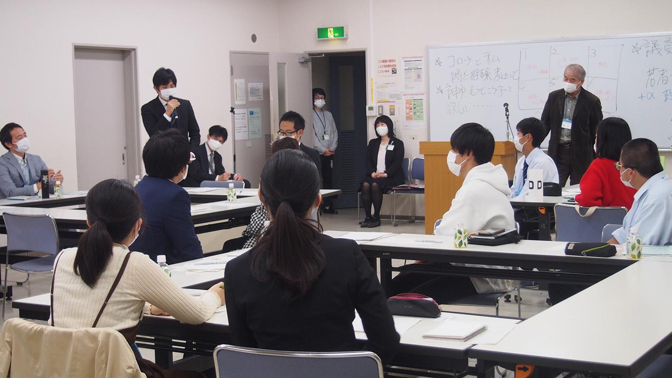 記事 LOVE・VOTE・KOBE~若者と市会議員との交流会~のアイキャッチ画像