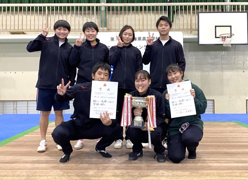 記事 県立須磨友が丘高校 ウエイトリフティング部のアイキャッチ画像
