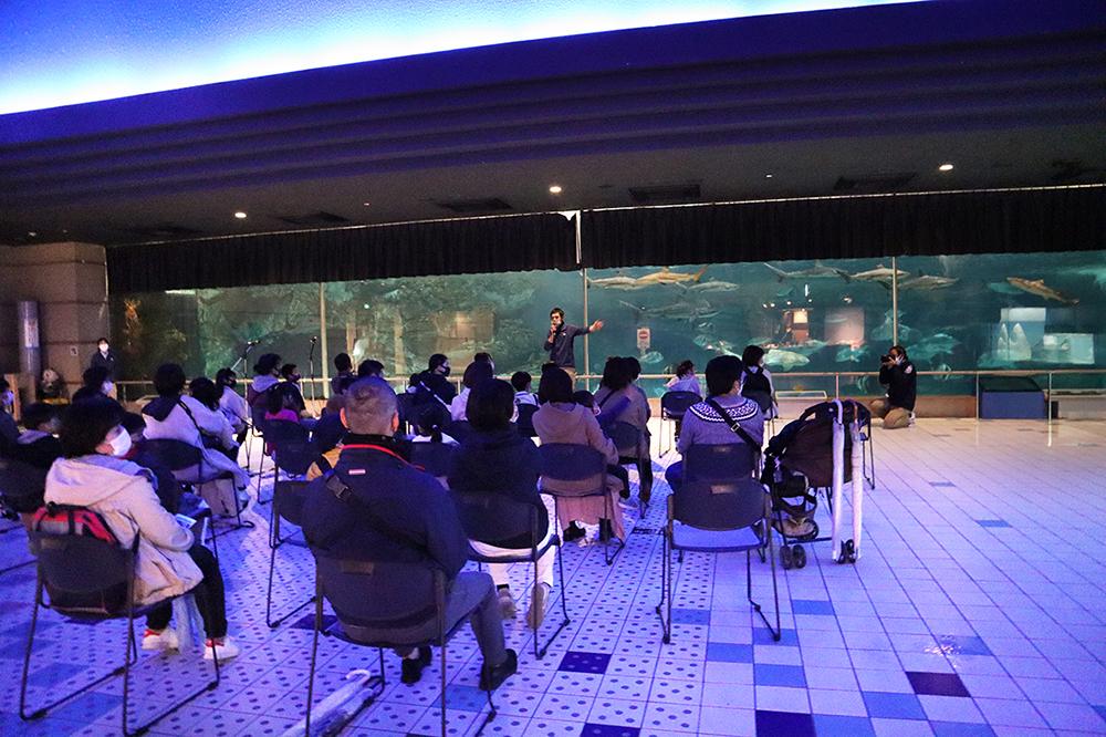 記事 「夜のスマスイを探検しよう」須磨海浜水族園(須磨区若宮町)のアイキャッチ画像